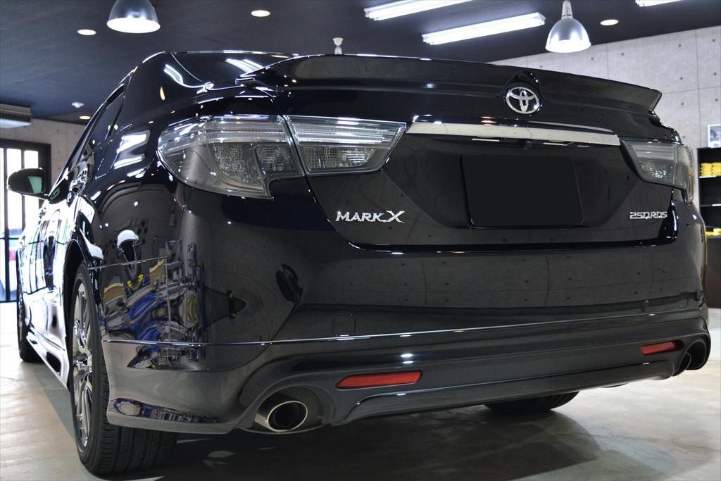 マークX 黒-8