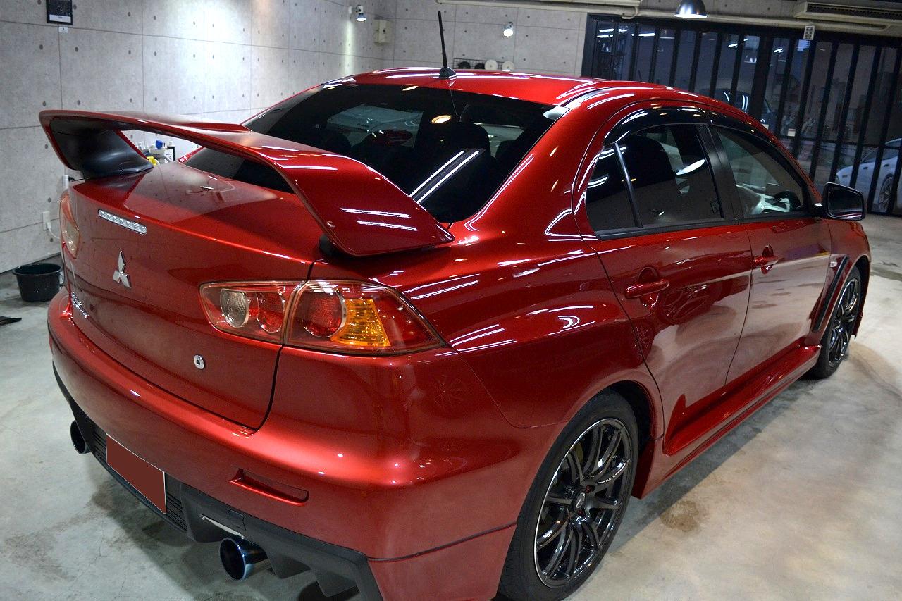 ランサーエボリューションX 赤-8