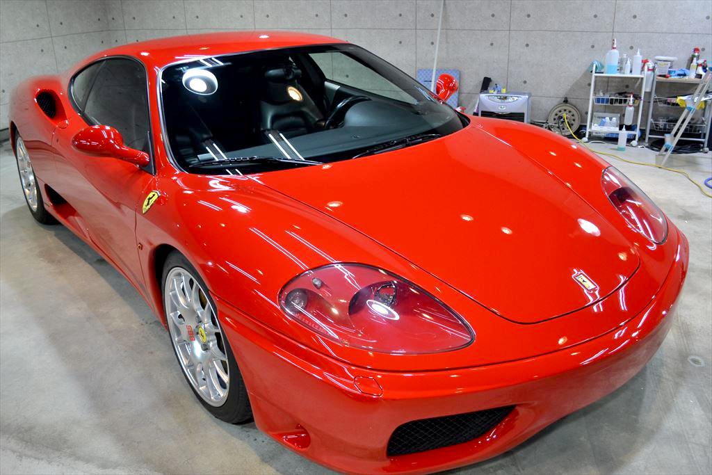 フェラーリF360赤-1