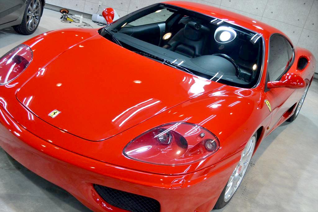 フェラーリF360赤-4